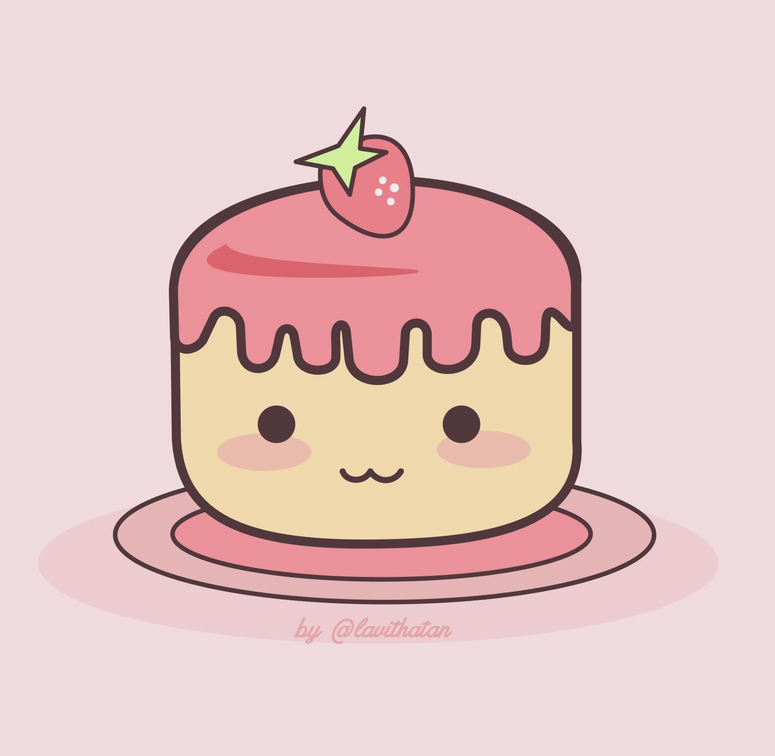 Cake Chibi
