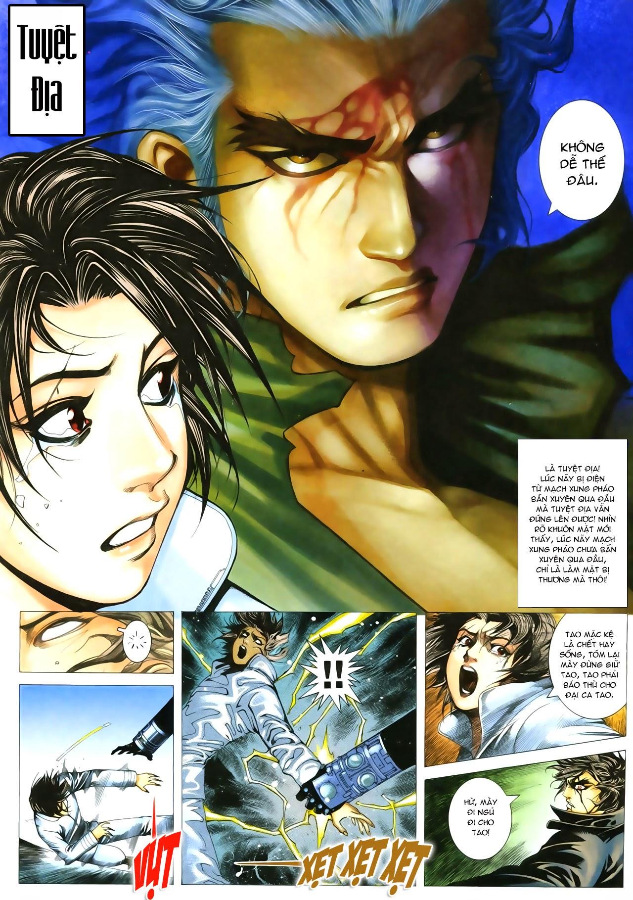 Tuyệt Địa Thiên Hành chap 8 Trang 14 - Mangak.info