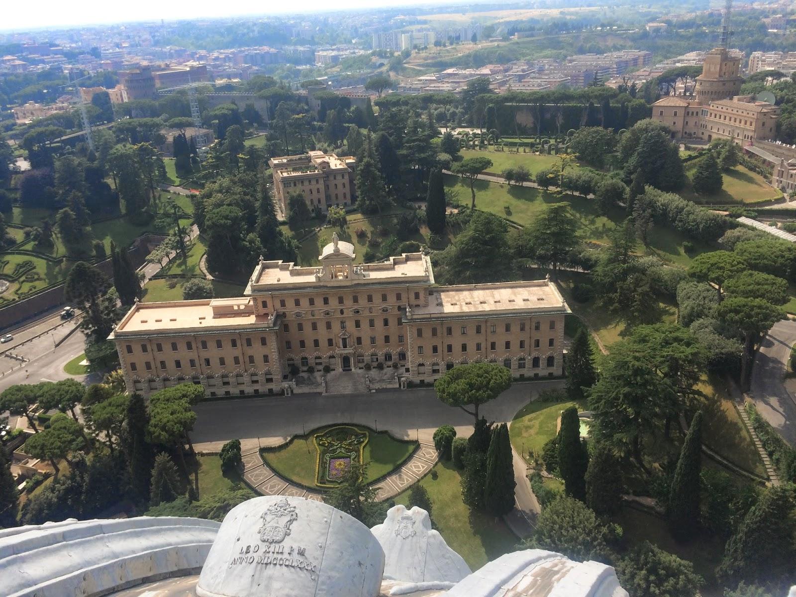Aggie Horticulture Goes To Italy Vatican Garden and Boboli Garden
