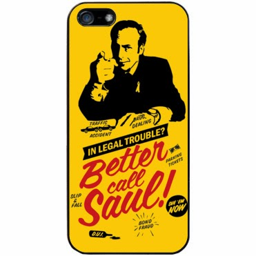 funda friki para iPhone. Saul Goodman. Breaking Bad.