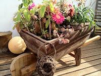 carrinho de jardim