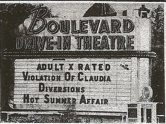 THE BOULEVARD DRIVE- IN
