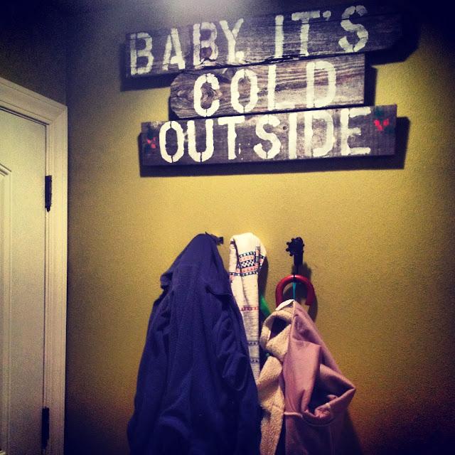 coat hanger sign