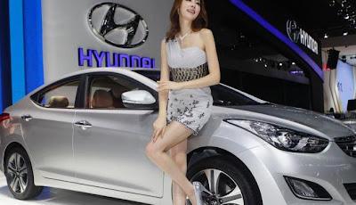 Gambar Mobil Keren Hyundai With model cantik Auto China 2012