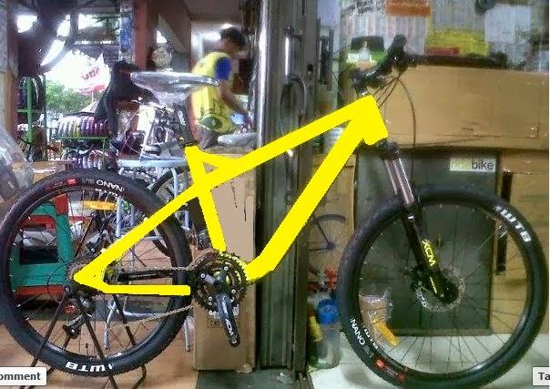 """Paket Murah Merakit Sepeda Mtb 26""""3x9 speed"""