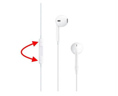 iPhone Resim Çekerken Apple Kulaklıkları Kullanın