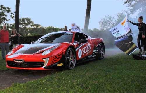 Plecare Ferrari 458 Italia pe Transfagarasan