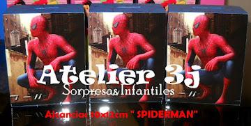 Sorpresas Infantiles Spiderman