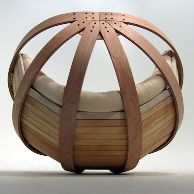 diseño silla mecedora