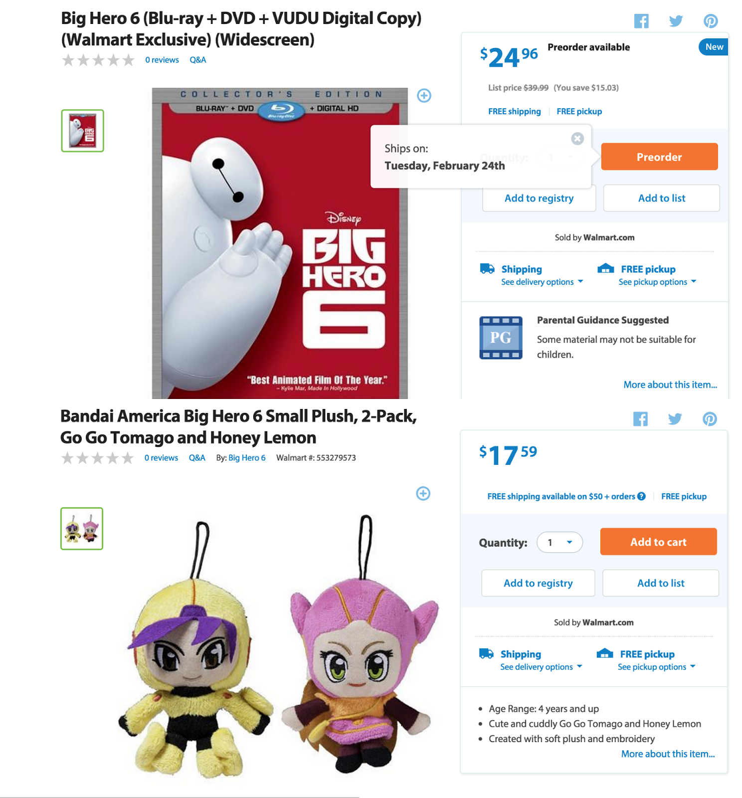big hero 6 walmart #shop