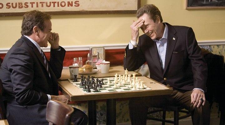 Revolver movie chess