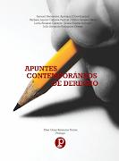 """LIBRO """"Apuntes contemporáneos de Derecho"""""""