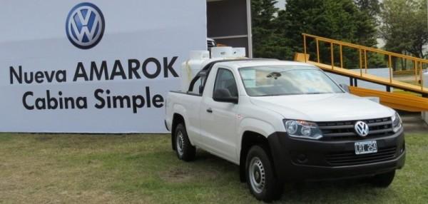 Volkswagen Amarok 2013 Cabina simple ya a la venta