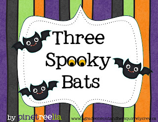 Addition subtraction Halloween primary first grade bats fun