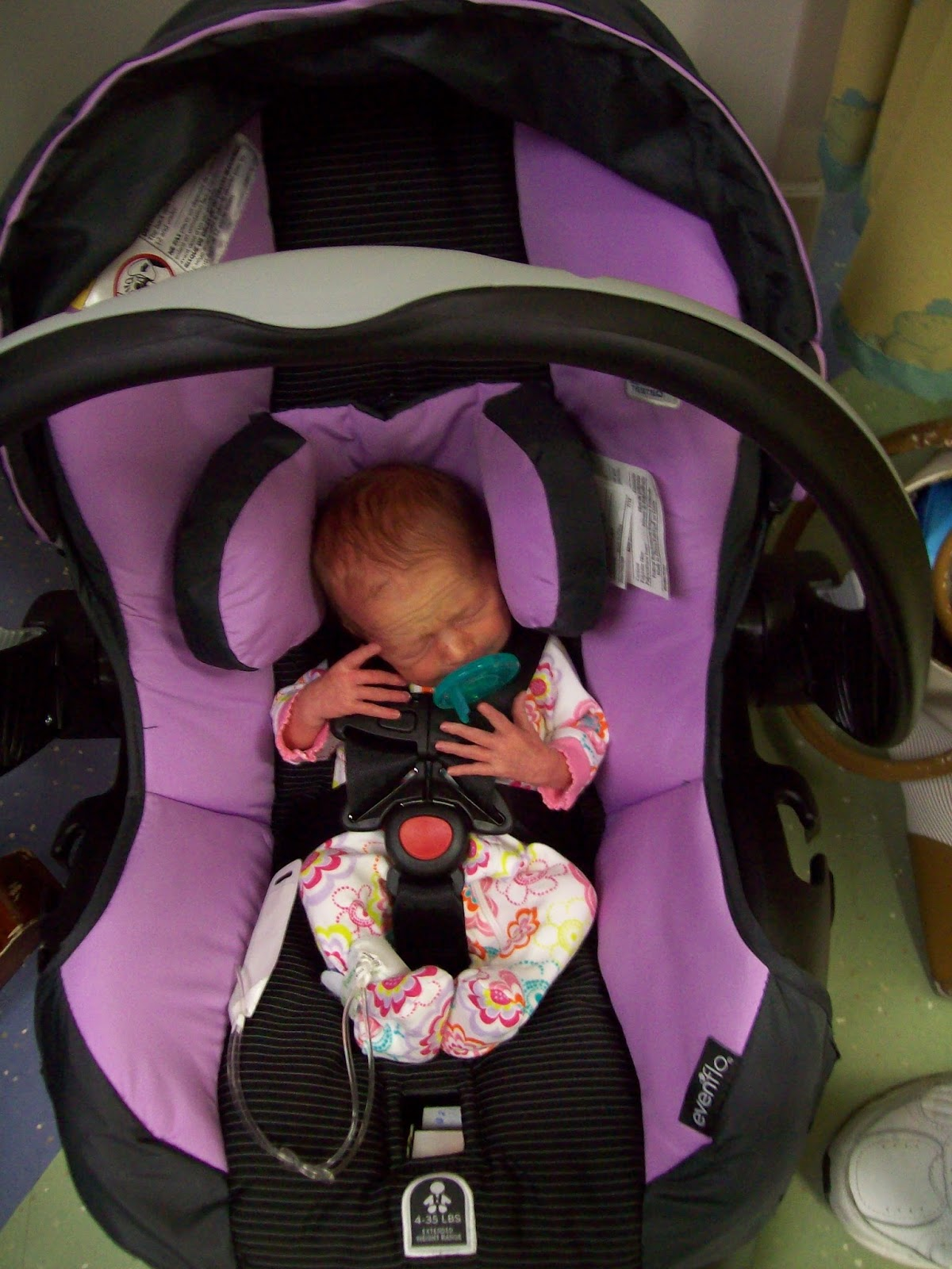 Preemies And Car Seats
