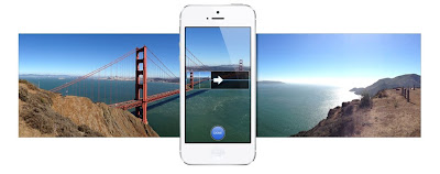iPhone Camera with Panorama