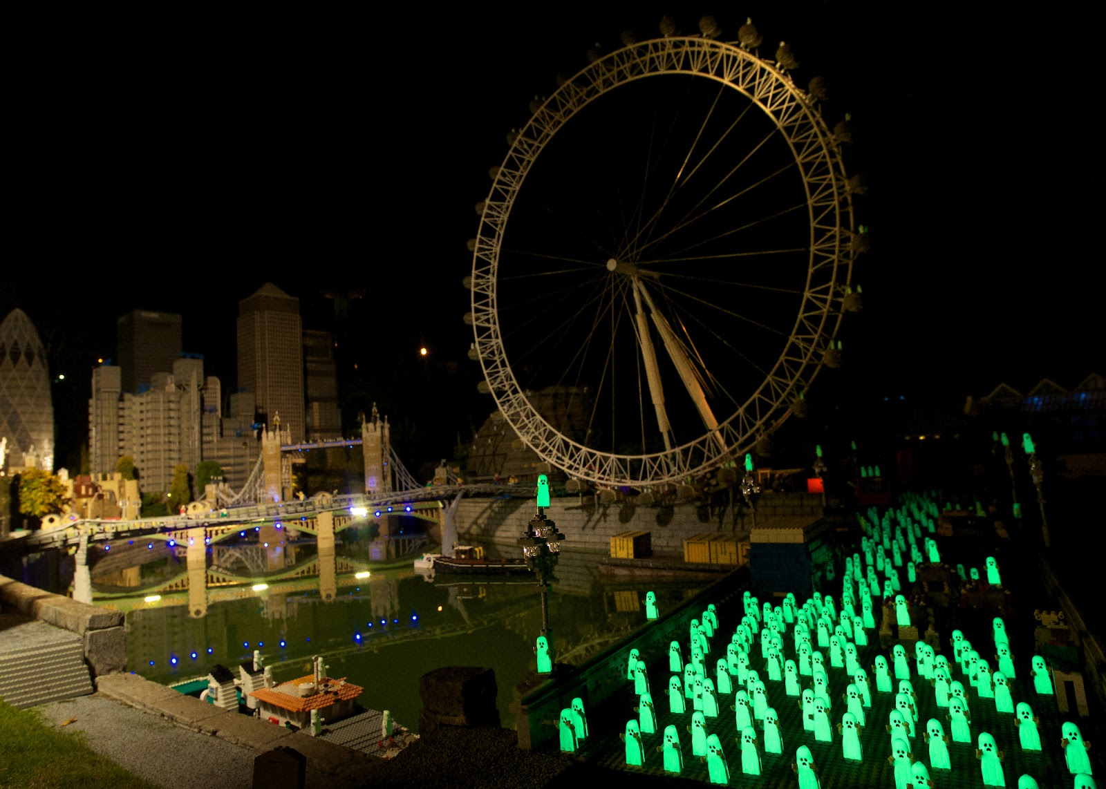 All About Bricks: Hundreds of Ghost take over London at