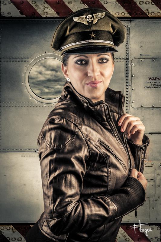Aviator girl - técnicas de fotografía
