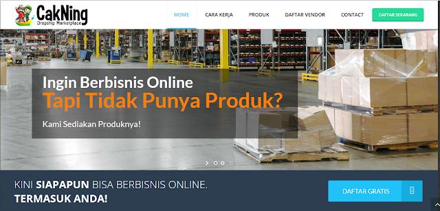 Cakning.com Dropship Marketplace Terbesar Di Indonesia