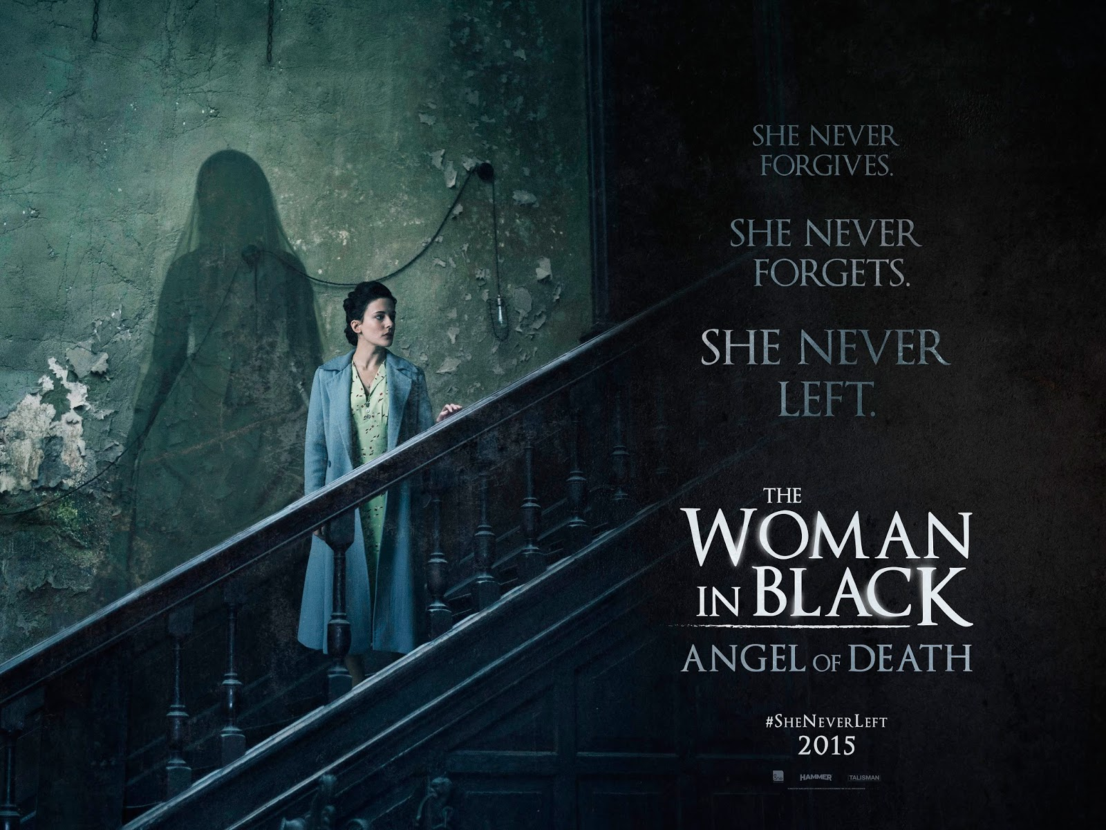 Woman in Black: Angel of Death Poster 2