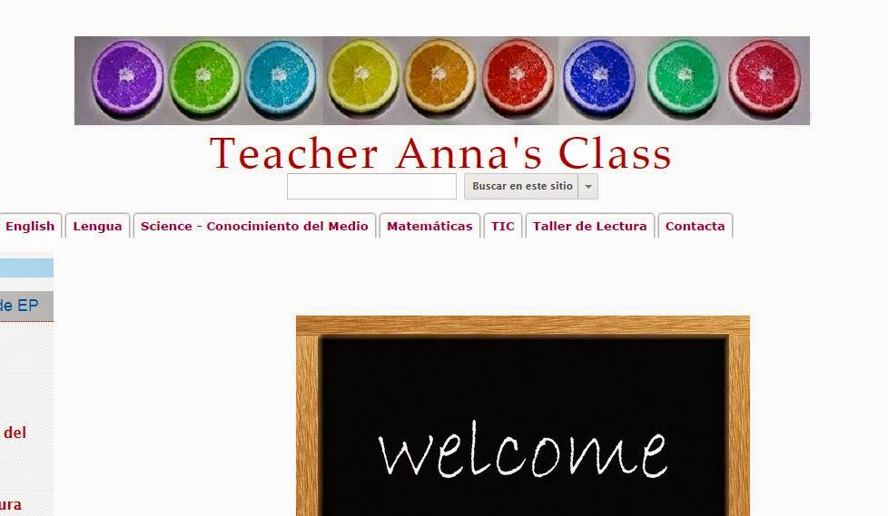 Teacher Anna´s web.