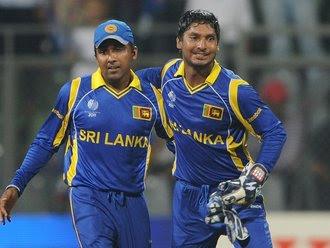Mahela Jayawardene and Kumar Sangakkara - Sri Lanka