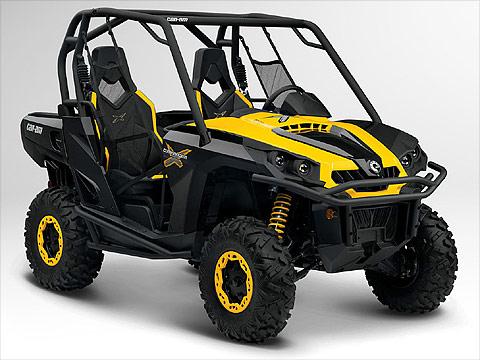 2012 Can-Am Commander 1000X ATV pictures. 480x360 pixels