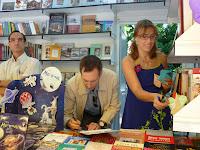 Gracia Iglesias, Álvaro Fierro, Los Meagrada, Feria del Libro de Madrid, Egartorre