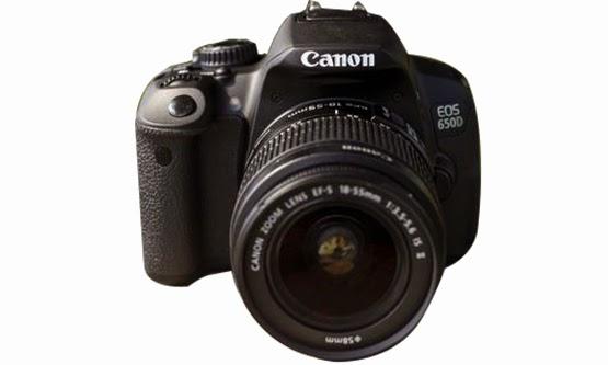 Harga Kamera Canon EOS 650D dan Spesifikasi Lengkap dan Baru