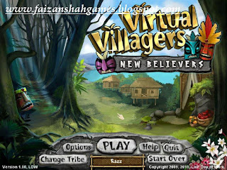Virtual villagers new believers puzzles