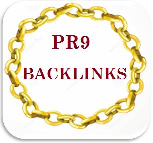 how to get get free PR9 quality backlinks