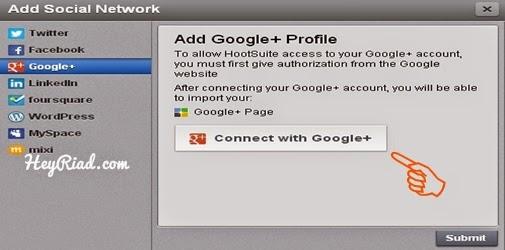 Cara posting otomatis blogspot ke google plus page