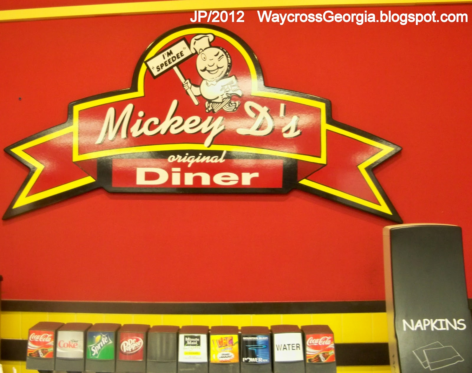 WAYCROSS GEORGIA Ware Cty.College Restaurant Bank Hotel ...