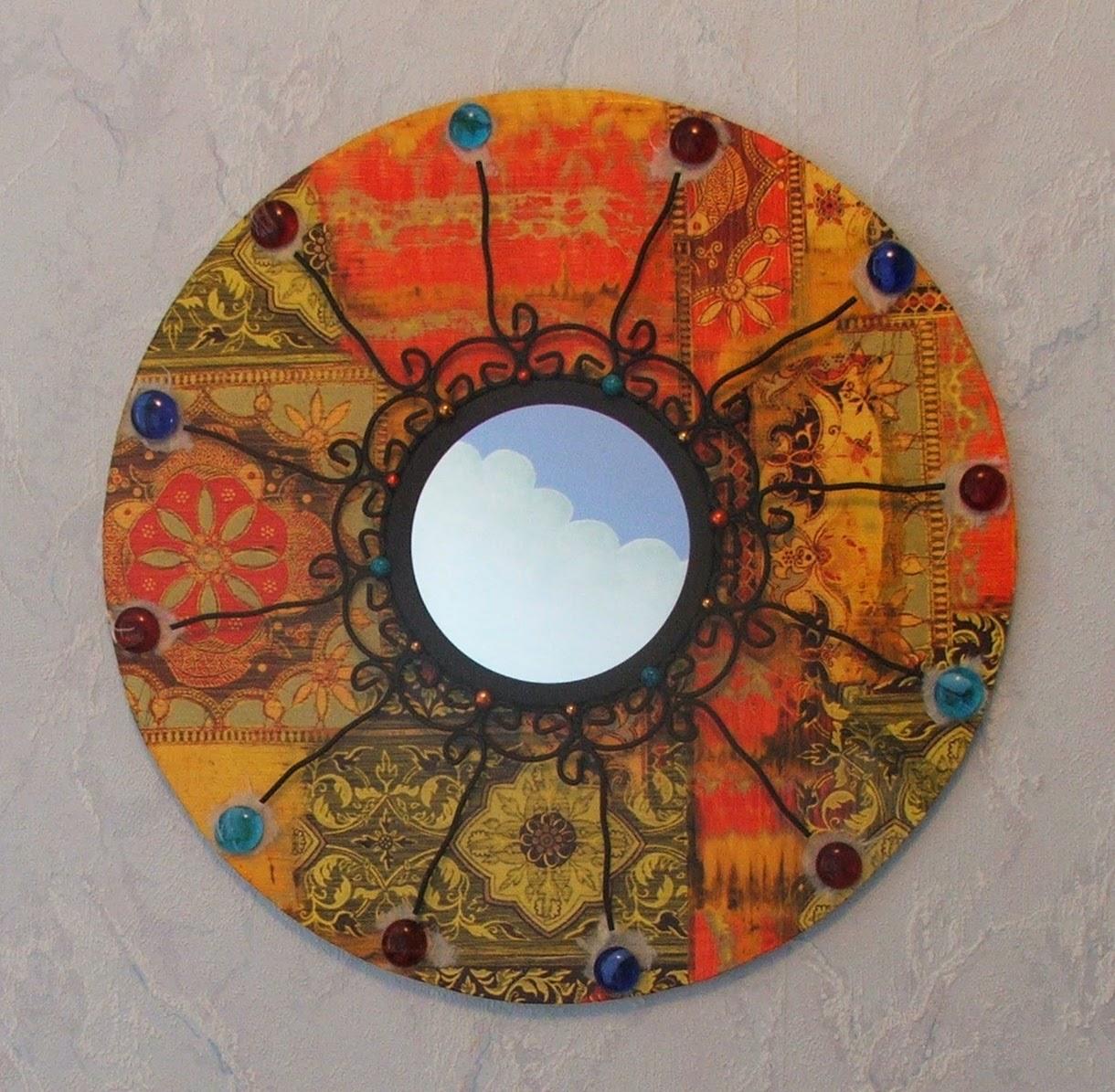 Miroirs et autres cr ations d 39 inspiration orientale mimi vermicelle cours art plastique et for Peinture sur fer forge