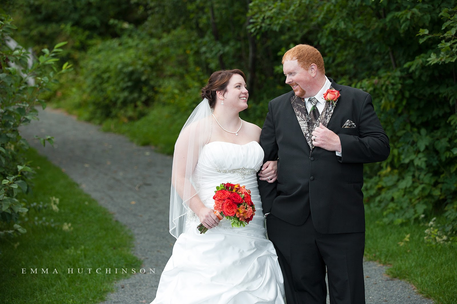Emma Hutchinson photographs weddings at Gorge Park In Grand Falls Windsor