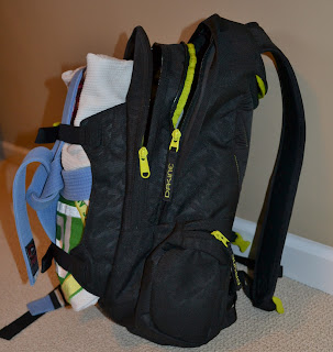 Dakine Mission Pack | Side View with Gi
