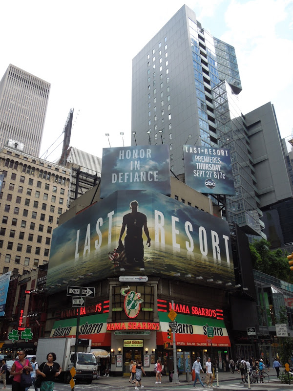 Last Resort season 1 billboards Times Square