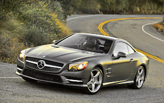 Mercedes-Benz SL550?  I'll be right there
