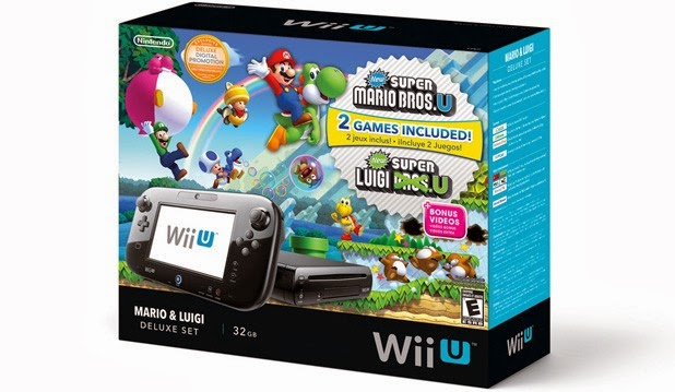 Mario & Luigi Wii U Bundle