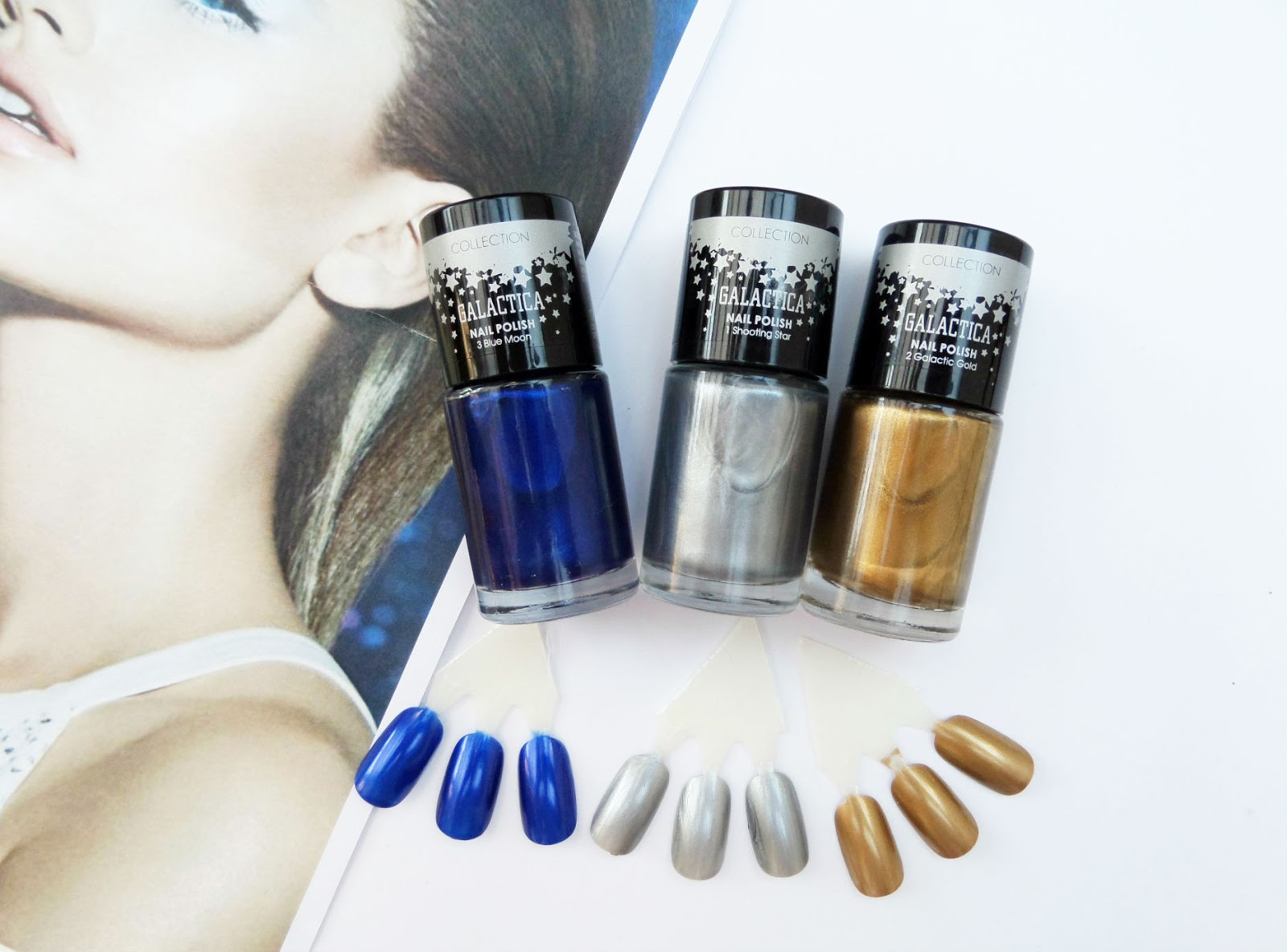 The New Collection Cosmetics Galactica Range Nails