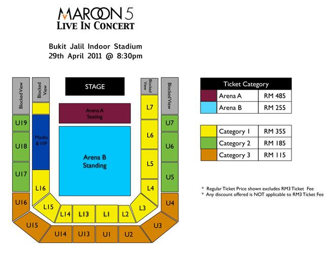 Stadium Putra Seating