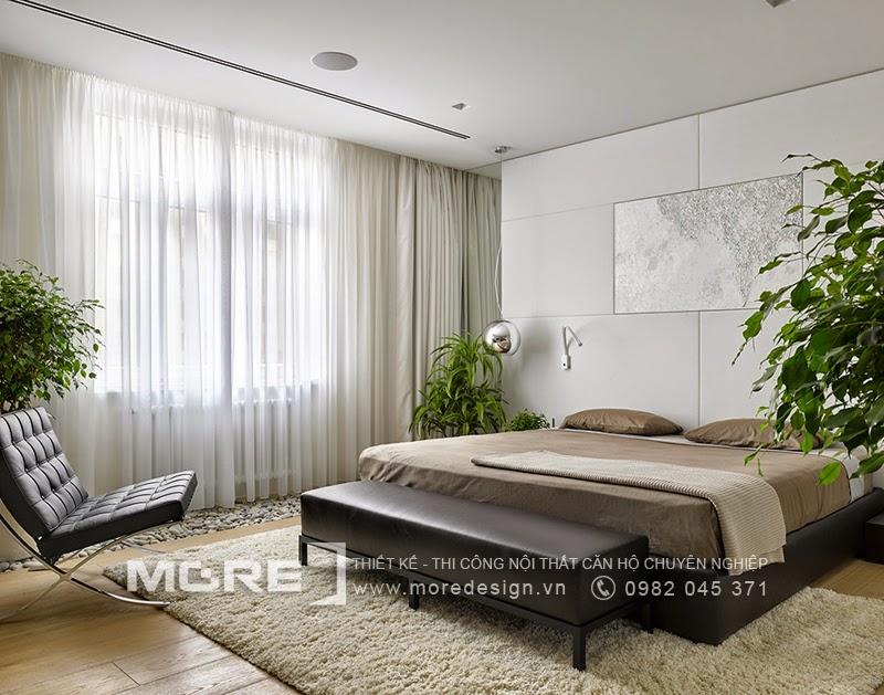 Không gian phòng ngủ sang trọng và tinh tế