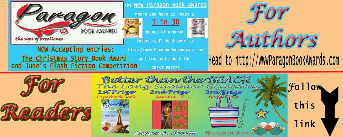 Paragon Book Awards and Giveaway