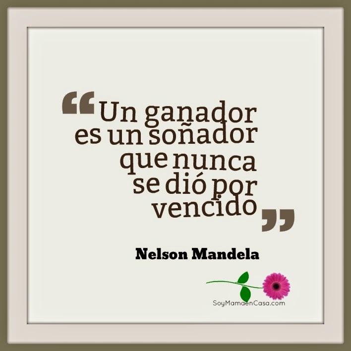 frases, Nelson Mandela, pensamientos, ganador