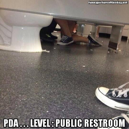 sex bathroom stall drunk