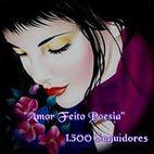 Blogue Amor feito Poesia - 1500 Seguidores