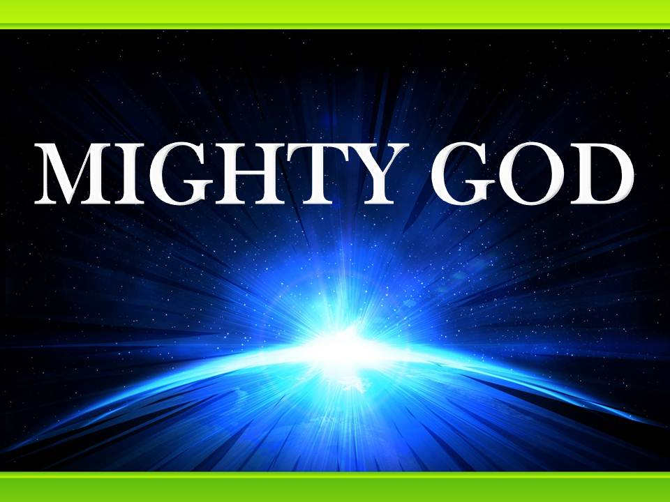 Pedido de Assinatura: MIGHTY-GOD