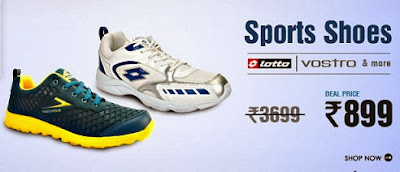 Get Lotto / Vostro Sports Shoes for Rs.899 Only