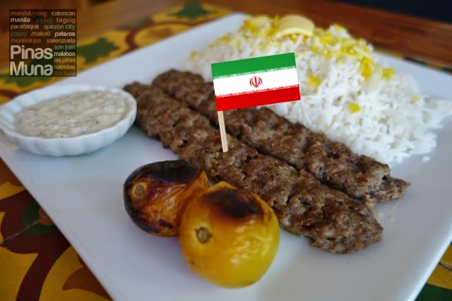 Chelo Kebab Kobideh by Persia Grill Kapitolyo