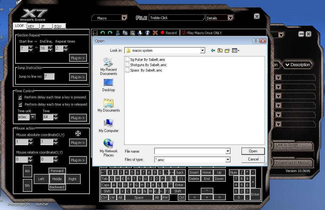 Download script macro x7 sg putar no miss